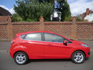 2014 Fiesta Zetec, 1 lady owner from new For Sale