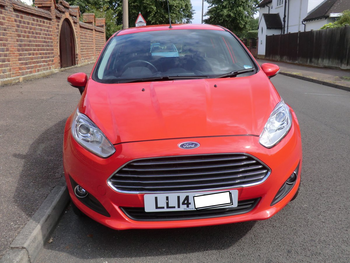 2014 Fiesta Zetec, 1 lady owner from new For Sale (picture 3 of 6)
