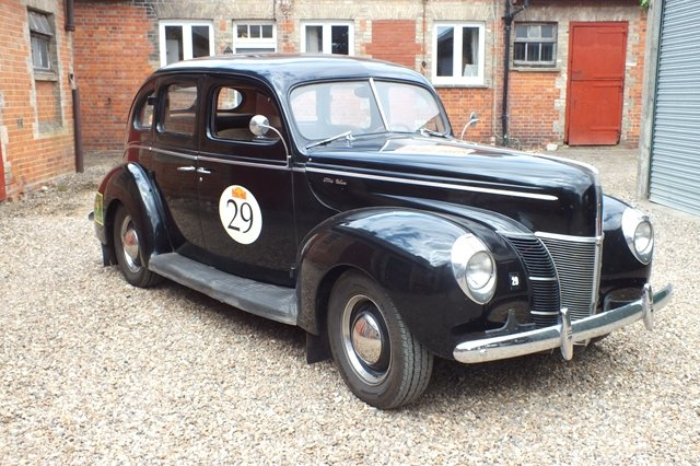 1940 This car has just arrived from the 2019 Peking-Paris event For Sale (picture 1 of 6)