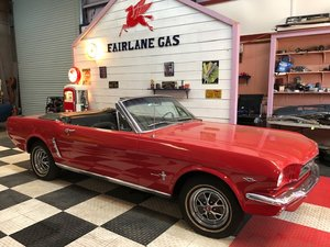 1965 Mustang Convertible Restored Buy Before Brexit For Sale