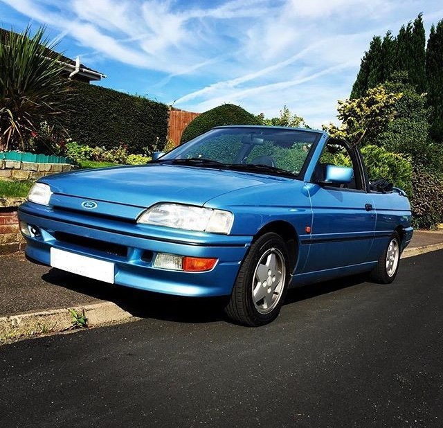 1992 RARE German built 130Bhp XR3i Convertible For Sale (picture 1 of 6)