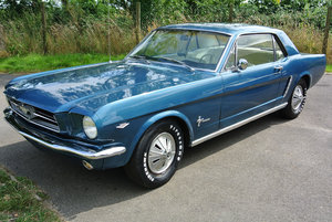 1965 Ford Mustang V8 Auto Metallic Blue PROJECT For Sale
