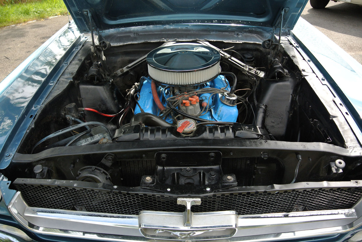 1965 Ford Mustang V8 Auto Metallic Blue PROJECT For Sale (picture 6 of 6)