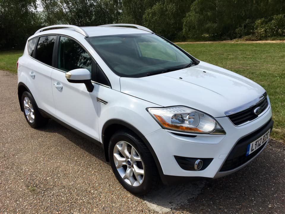 2012 Ford Kuga 2.0 TDCi Zetec, 1 Prvs owner, FFSH For Sale (picture 1 of 6)