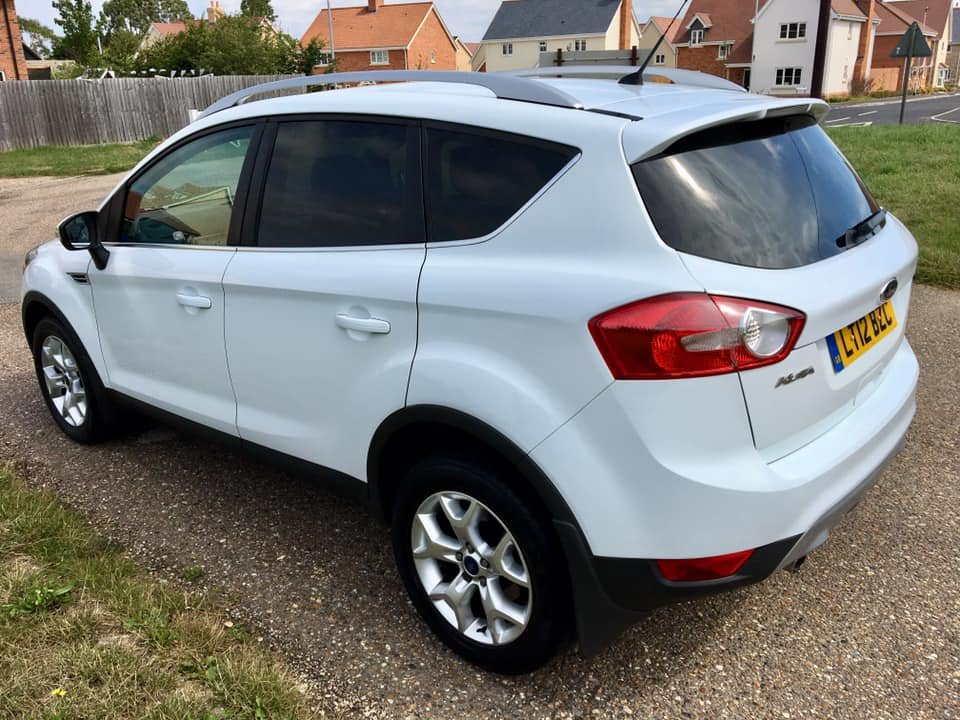 2012 Ford Kuga 2.0 TDCi Zetec, 1 Prvs owner, FFSH For Sale (picture 2 of 6)