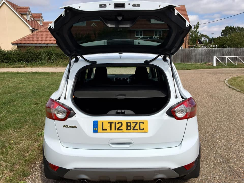 2012 Ford Kuga 2.0 TDCi Zetec, 1 Prvs owner, FFSH For Sale (picture 3 of 6)