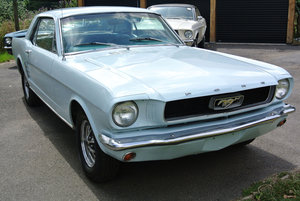 1966 Arcadian Blue Ford Mustang V8 Auto Coupe PROJECT SOLD