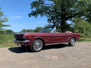 1966 Ford Mustang 289 Convertible For Sale