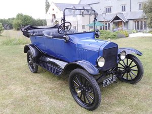 1921 Ford model T Tourer, Manchester build right-hand drive SOLD