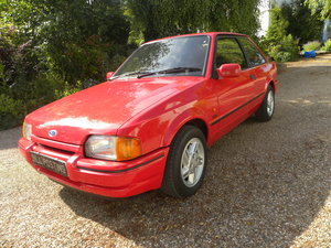 1986 FORD ESCORT XR3i 27000 miles from new For Sale