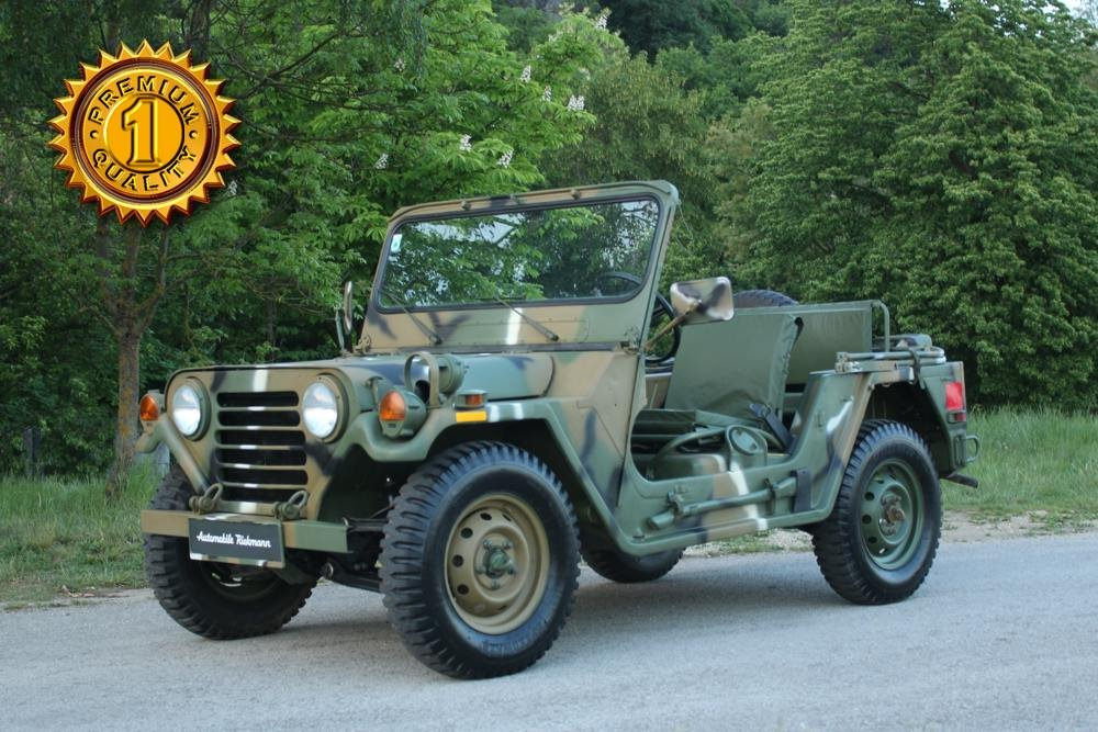 1972 Ford MUTT M151 A2 For Sale (picture 1 of 6)