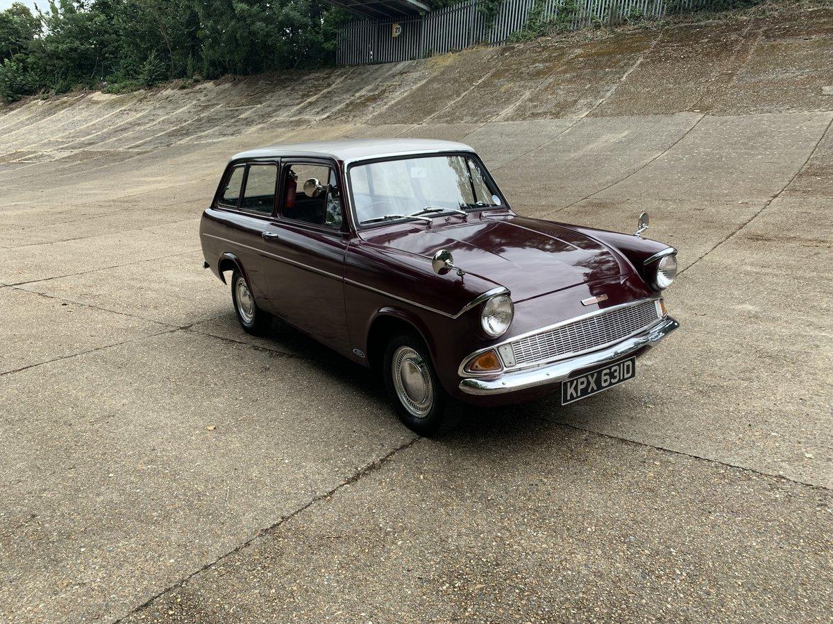 1966 Ford Anglia Deluxe Estate  105E SOLD (picture 1 of 6)