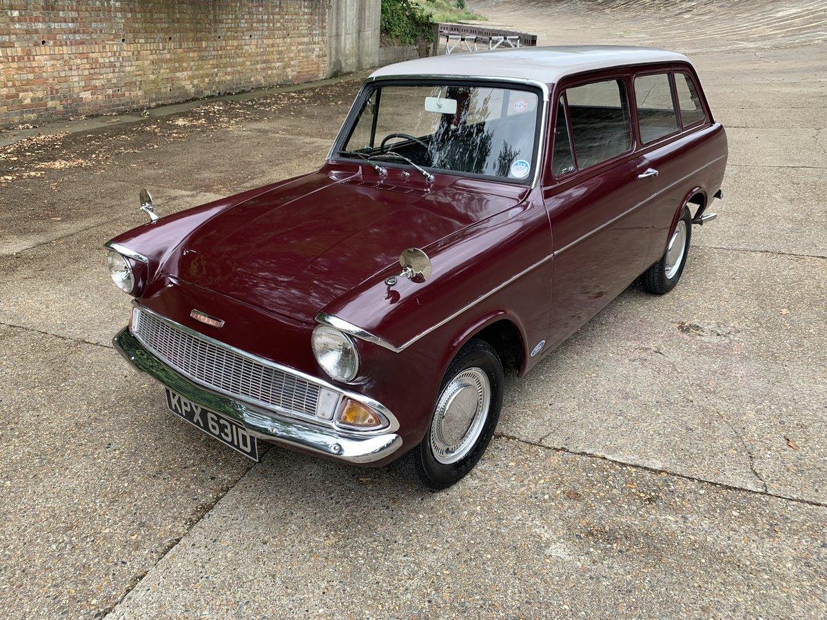 1966 Ford Anglia Deluxe Estate  105E SOLD (picture 2 of 6)