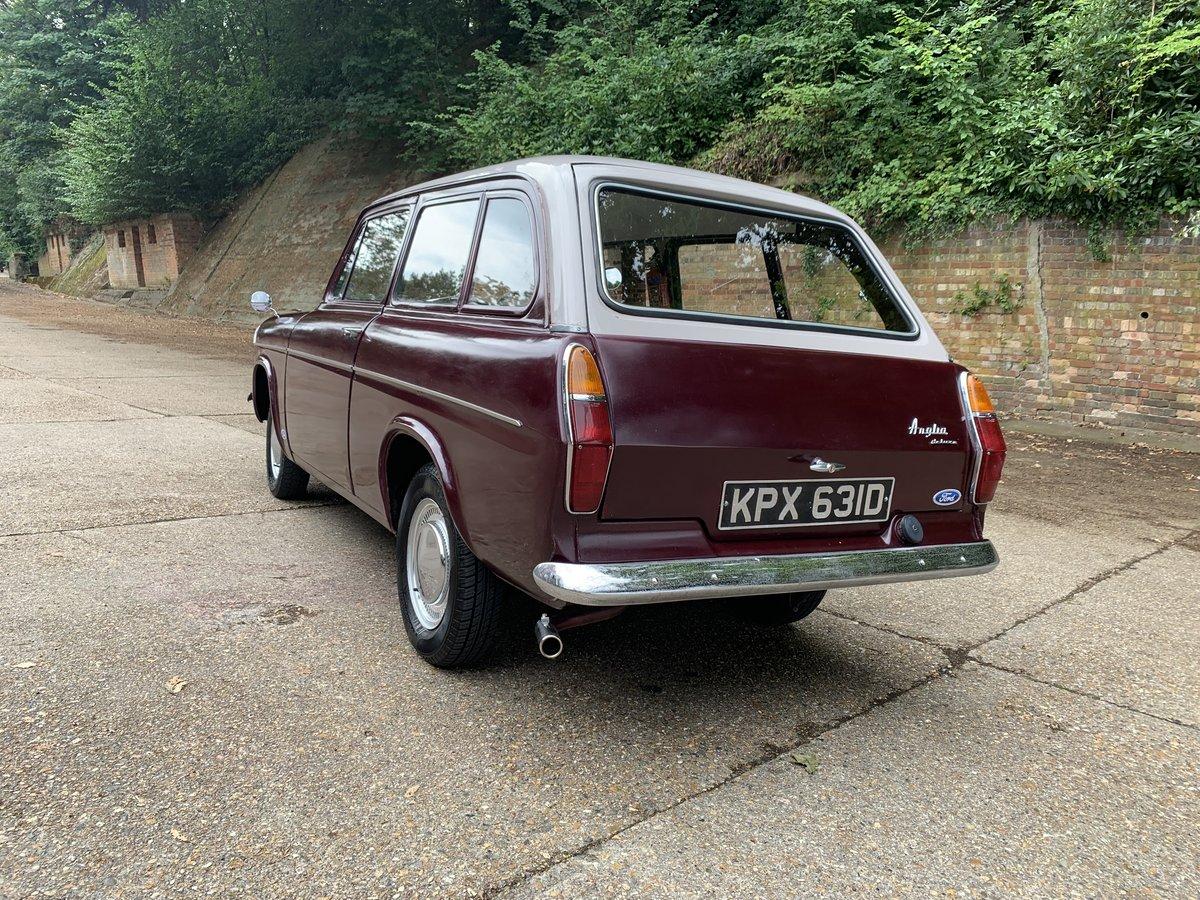1966 Ford Anglia Deluxe Estate  105E SOLD (picture 3 of 6)