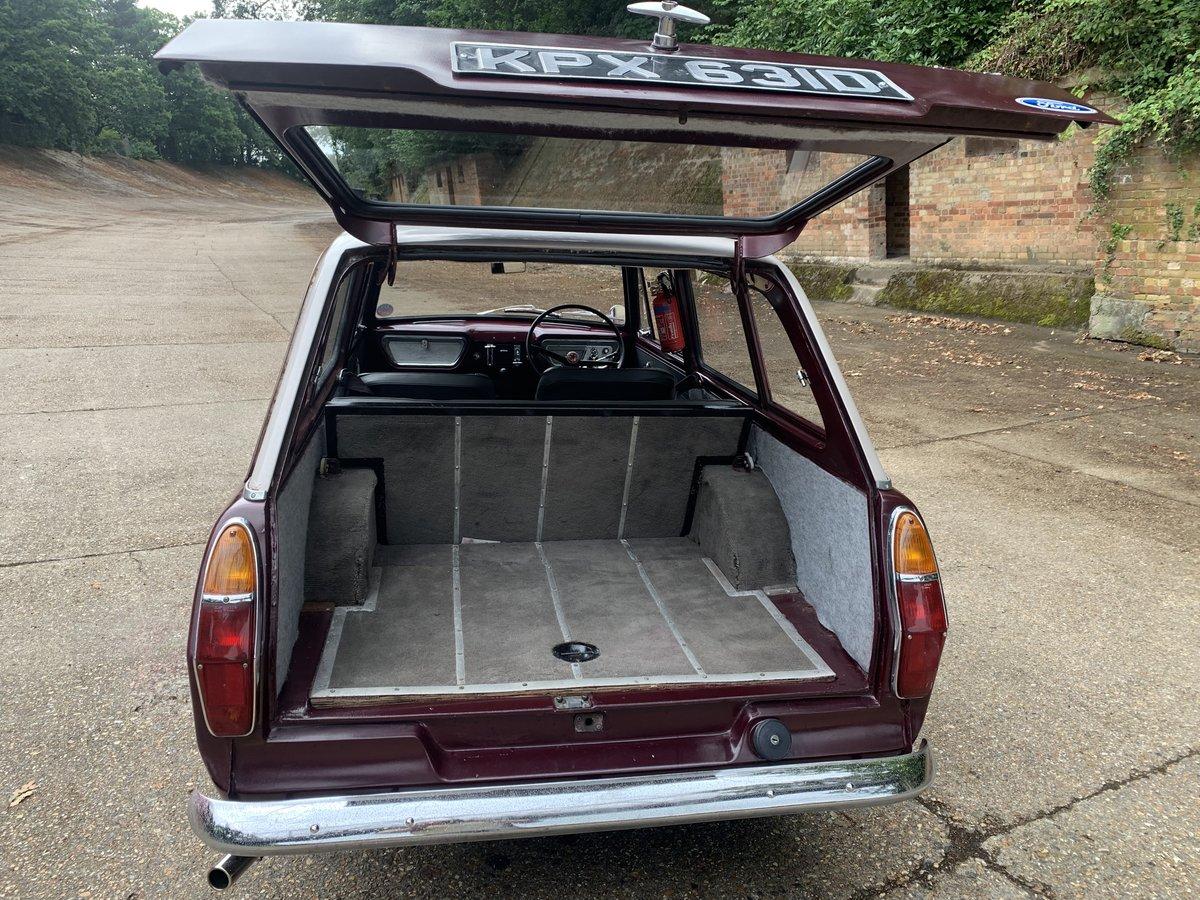 1966 Ford Anglia Deluxe Estate  105E SOLD (picture 4 of 6)