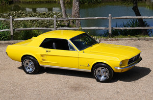 1967 Ford Mustang 302 High Performance Coupe For Sale