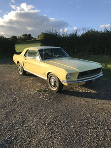 1968 Ford Mustang V8 coupe with genuine low miles