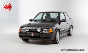1991 Ford Escort RS Turbo /// 1 Owner /// 12k Miles! For Sale