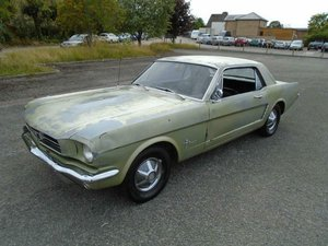 FORD MUSTANG 3.3 AUTO COUPE (1965) SOLID CAR TO RESTORE! For Sale