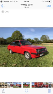1978 Ford Escort RS2000 Cosworth price reduced