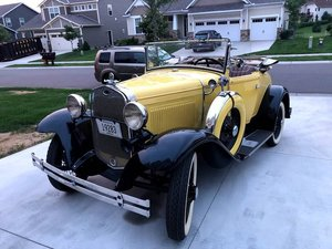 1931 Ford Model A Cabriolet (Plymouth, MN) $29,900 obo For Sale