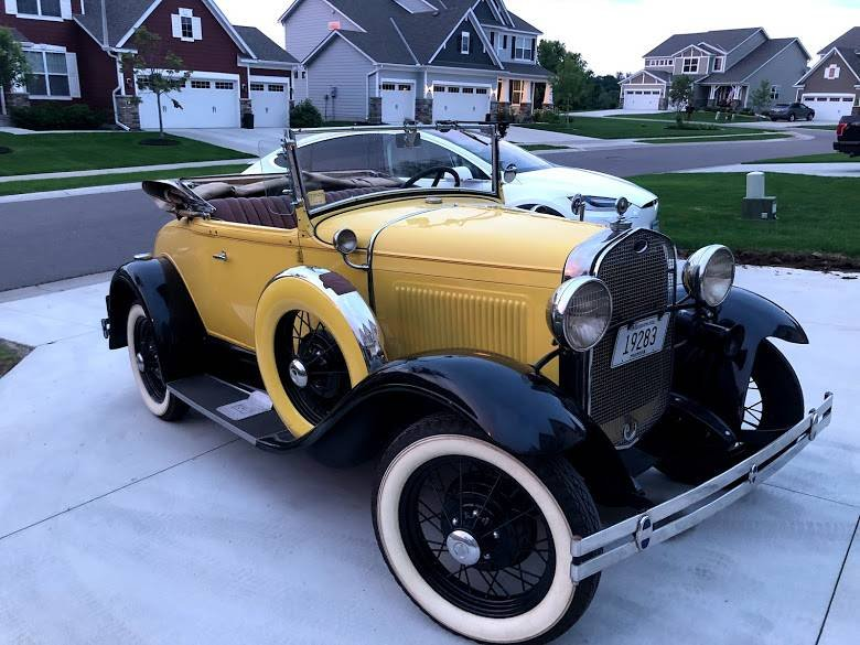 1931 Ford Model A Cabriolet (Plymouth, MN) $29,900 obo For Sale (picture 2 of 5)