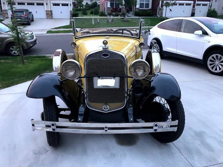 1931 Ford Model A Cabriolet (Plymouth, MN) $29,900 obo For Sale (picture 3 of 5)
