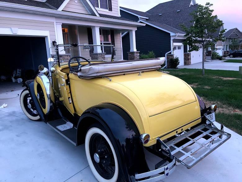 1931 Ford Model A Cabriolet (Plymouth, MN) $29,900 obo For Sale (picture 4 of 5)