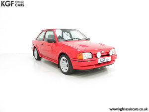 1987 An Immaculate Early Ford Escort RS Turbo Series 2 SOLD