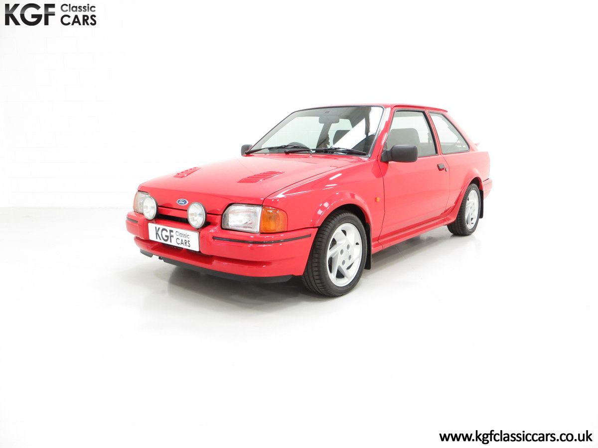 1987 An Immaculate Early Ford Escort RS Turbo Series 2 SOLD (picture 2 of 6)