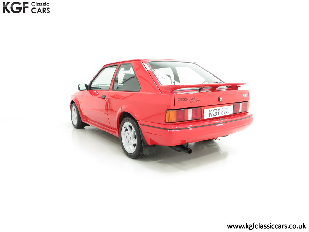 1987 An Immaculate Early Ford Escort RS Turbo Series 2 SOLD (picture 4 of 6)