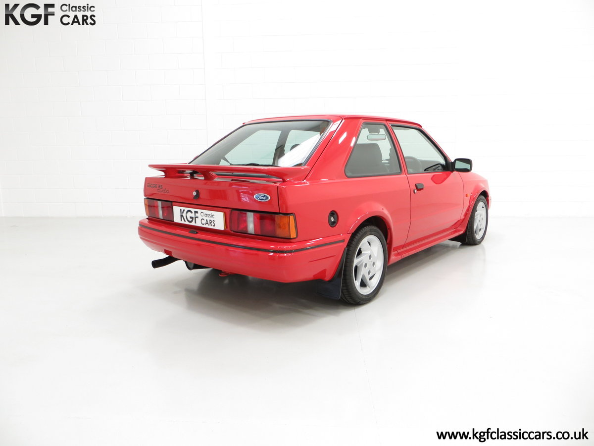 1987 An Immaculate Early Ford Escort RS Turbo Series 2 SOLD (picture 5 of 6)