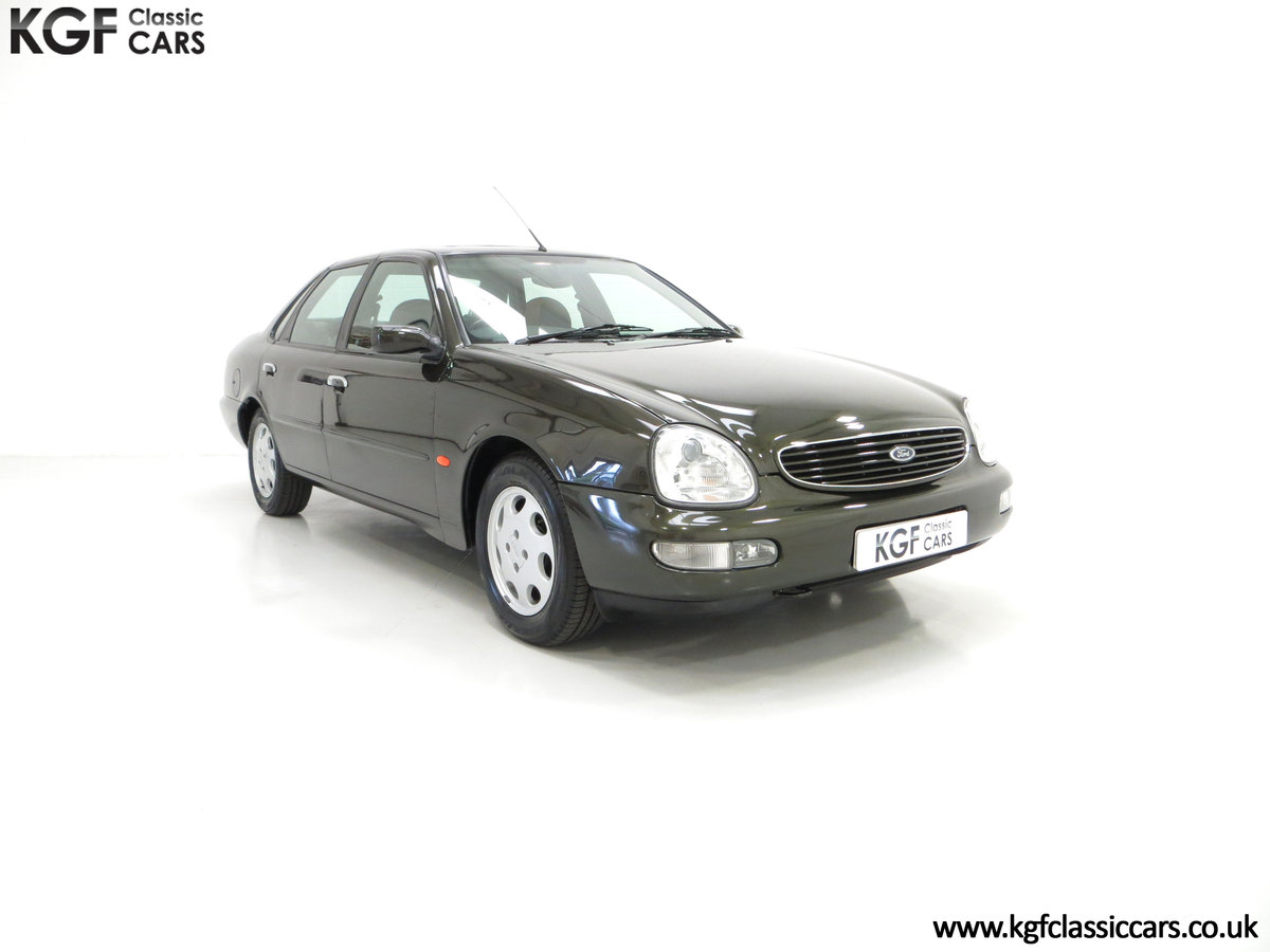 1995 A Very Attractive Ford Scorpio Ultima 2.9 EFi V6 SOLD (picture 1 of 6)
