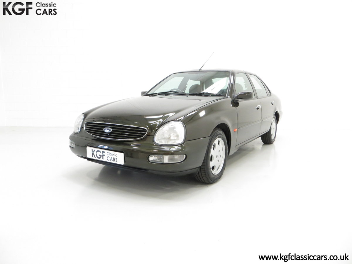 1995 A Very Attractive Ford Scorpio Ultima 2.9 EFi V6 SOLD (picture 2 of 6)