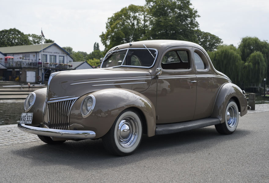 1939 Ford DeLuxe Restomod (LHD) For Sale In London For Sale (picture 1 of 24)