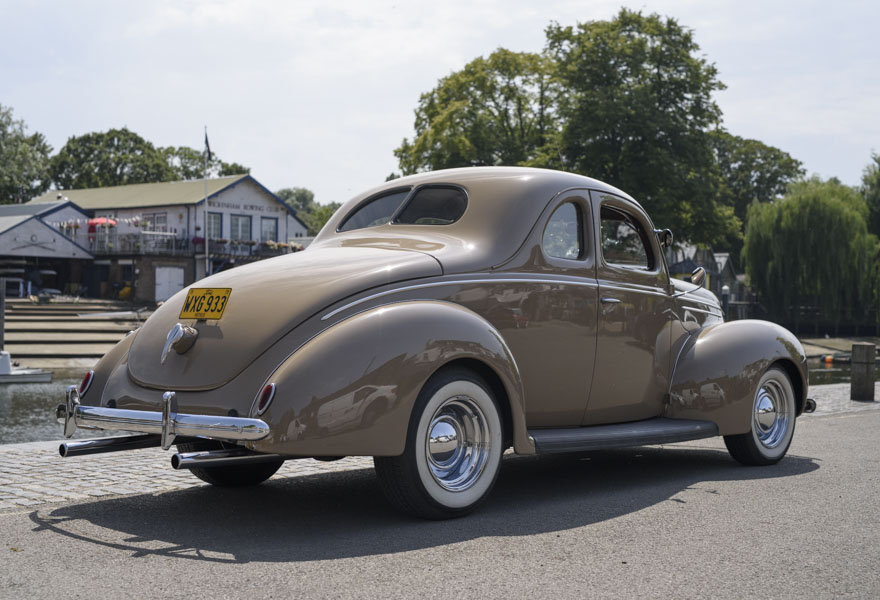 1939 Ford DeLuxe Restomod (LHD) For Sale In London For Sale (picture 3 of 24)