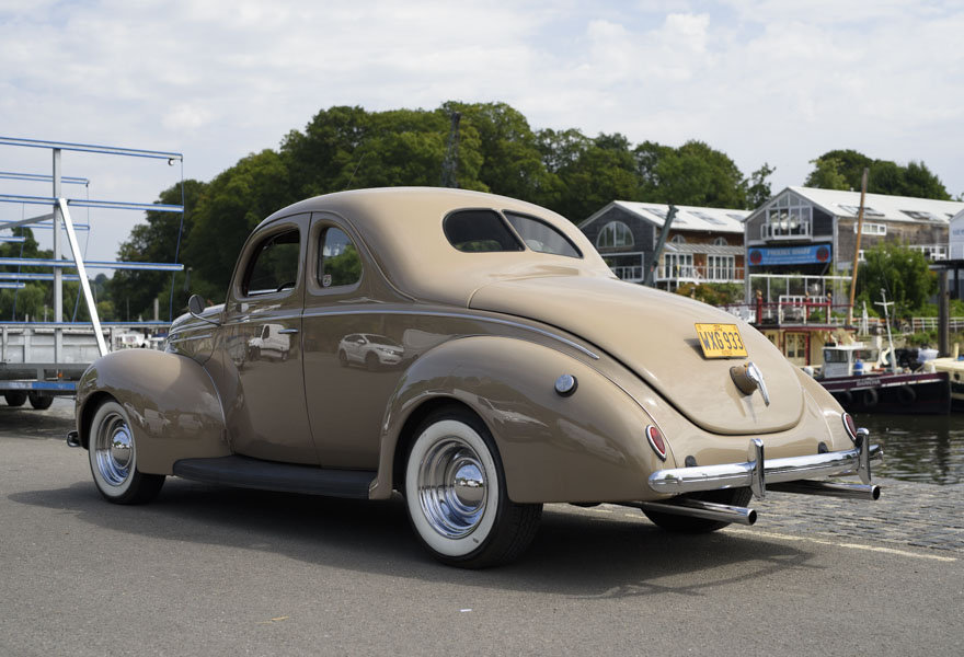 1939 Ford DeLuxe Restomod (LHD) For Sale In London For Sale (picture 4 of 24)