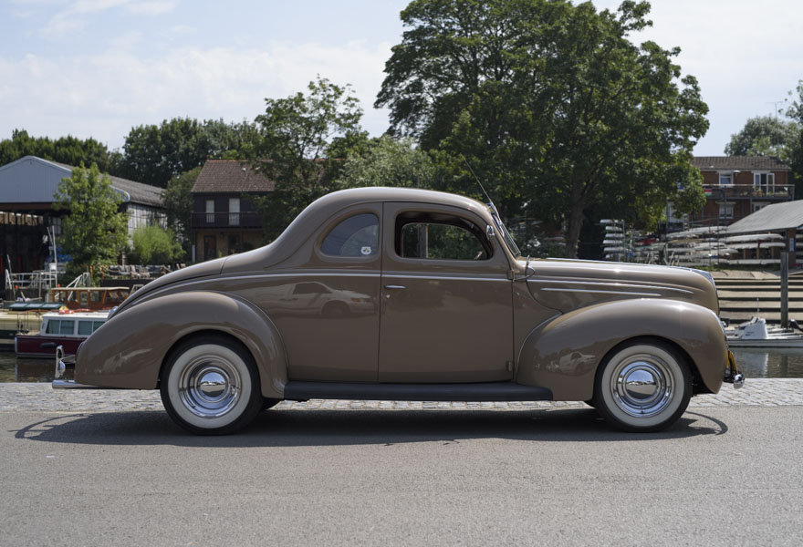 1939 Ford DeLuxe Restomod (LHD) For Sale In London For Sale (picture 5 of 24)