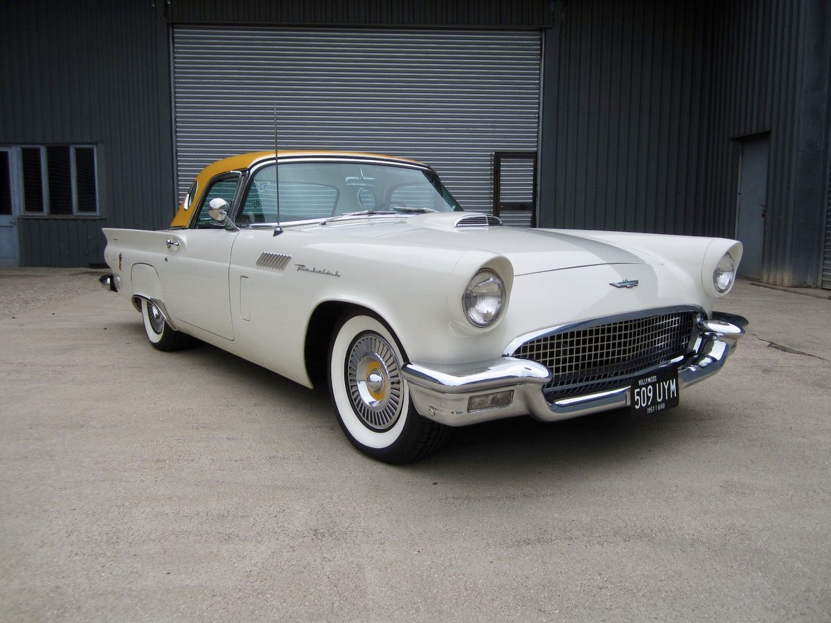 1957 Ford Thunderbird For Sale Car And Classic