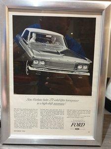 1964 Ford Fairlane Advert Original US