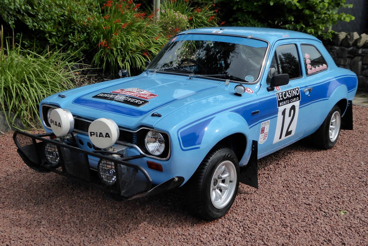 1972 Ford Escort MK1 RS 1600 Rally car SOLD (picture 1 of 6)