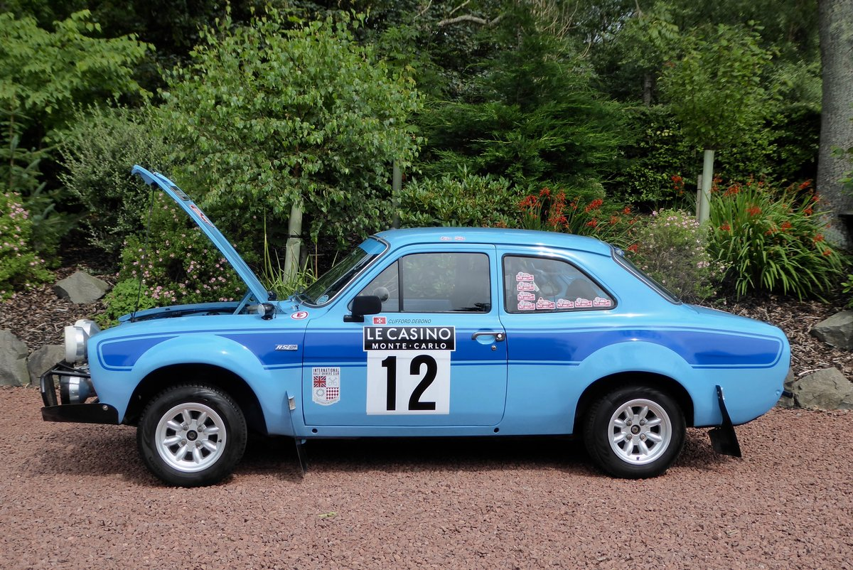 1972 Ford Escort MK1 RS 1600 Rally car SOLD (picture 3 of 6)
