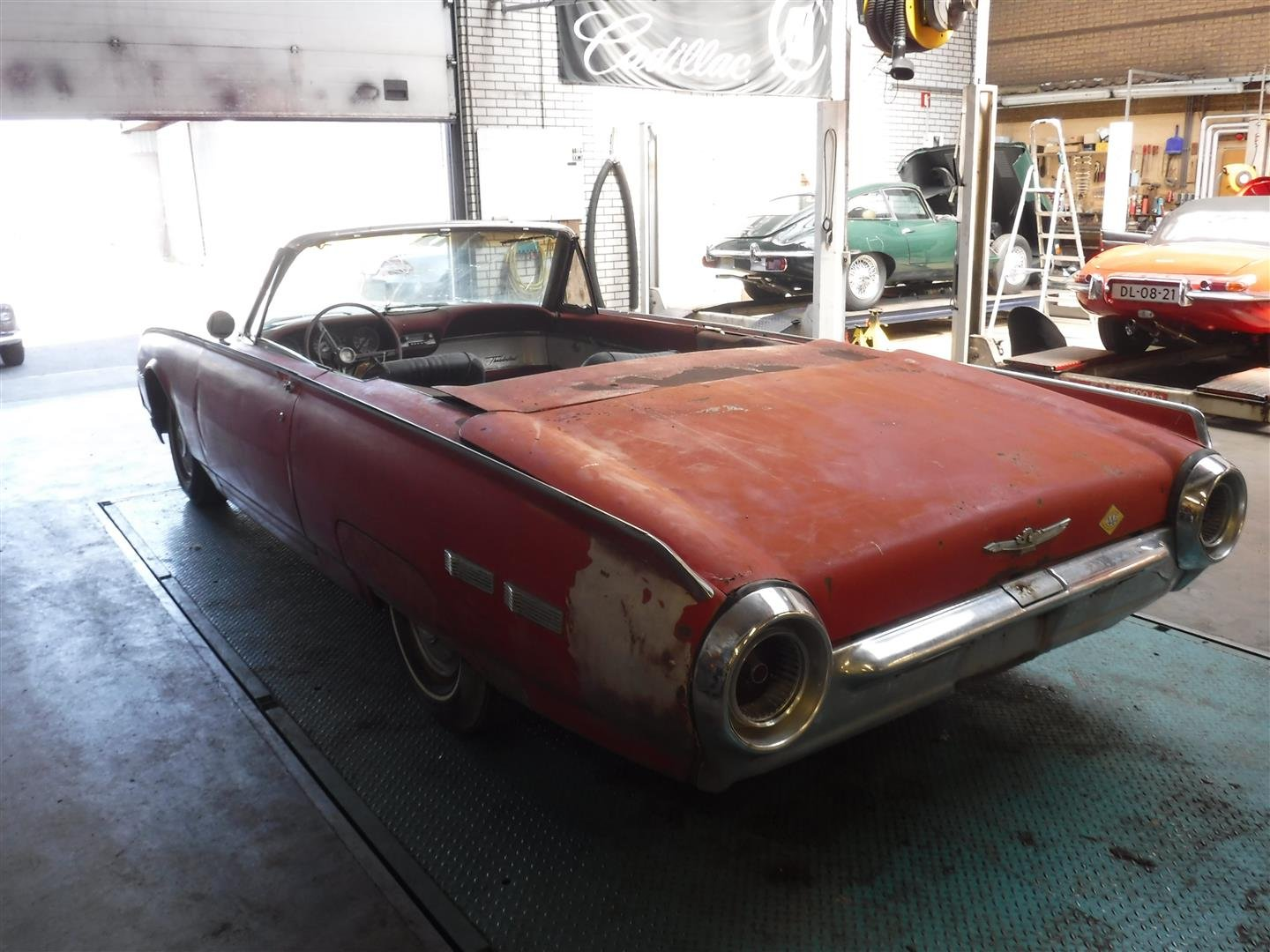 1950 Ford Thunderbird Convertible '50 (to restore) For Sale (picture 2 of 6)