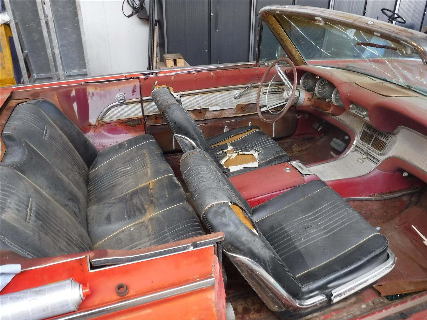 1950 Ford Thunderbird Convertible '50 (to restore) For Sale (picture 4 of 6)
