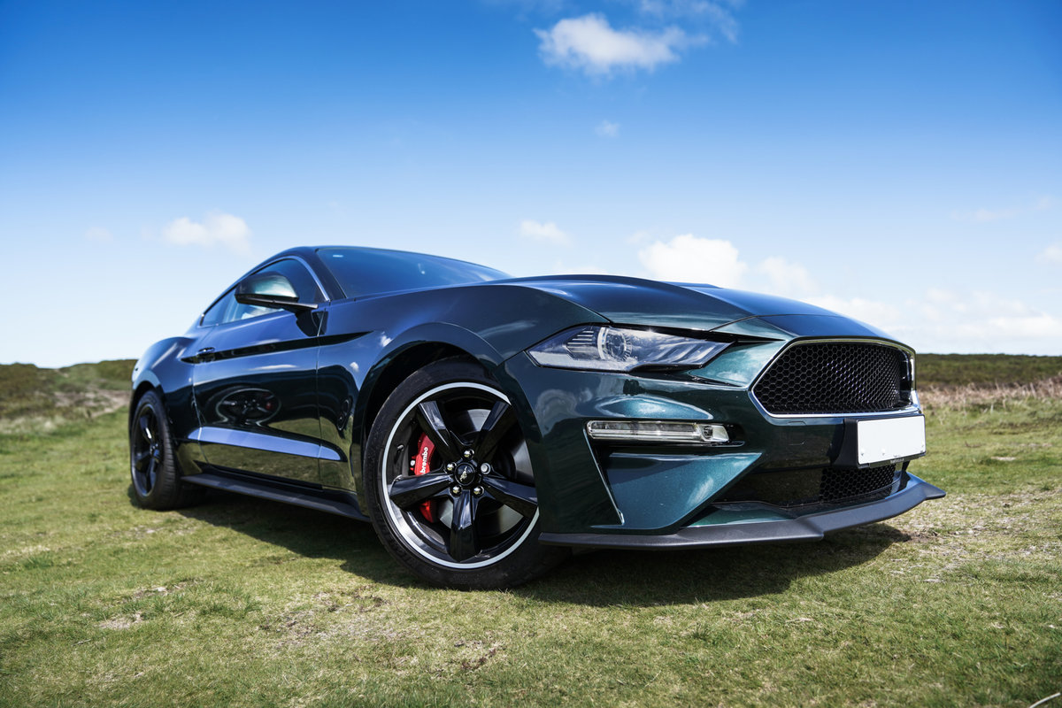 2019 Ford Mustang BULLITT 5.0 V8 PHYSICAL CAR CHOICE OF 2 For Sale (picture 3 of 6)