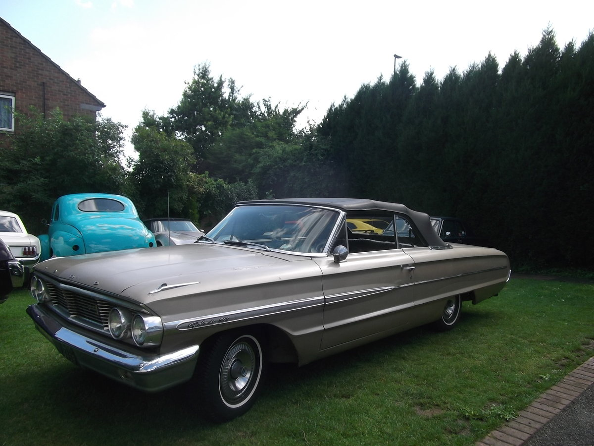 1964-Ford-Galaxie-500-Convertible-289 V8,Automatic SOLD (picture 4 of 6)