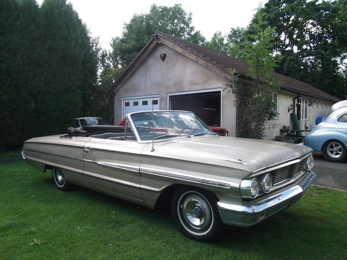 1964-Ford-Galaxie-500-Convertible-289 V8,Automatic SOLD (picture 5 of 6)