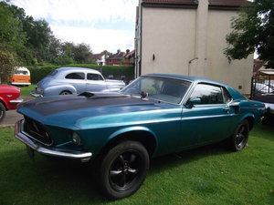 1969-Mustang-Fastback-Ex-Drag-Car  SOLD