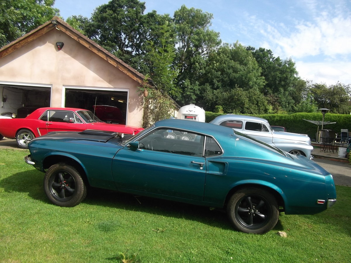 1969-Mustang-Fastback-Ex-Drag-Car  SOLD (picture 3 of 6)