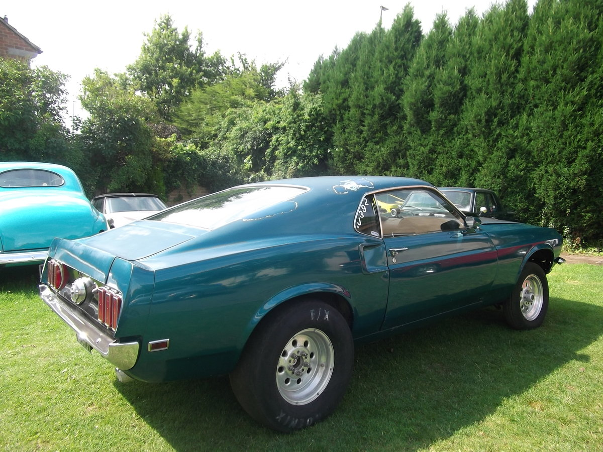 1969-Mustang-Fastback-Ex-Drag-Car  SOLD (picture 5 of 6)